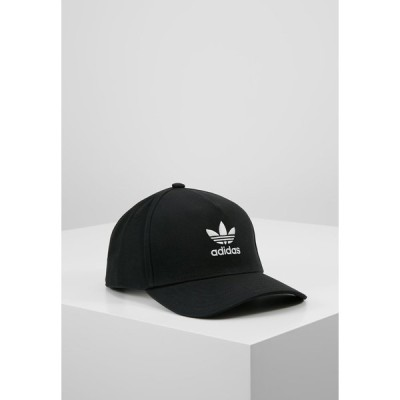 アディダスオリジナルス 帽子 メンズ アクセサリー Cap - black