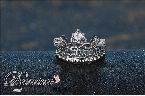 戒指 現貨 韓國專櫃CZ鑽氣質閃亮 微鑲 名媛奢華 晚宴立體 皇冠 水晶戒指 S5161 批發價