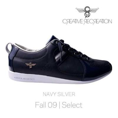 【SALE】クリエイティブ レクリエーション ガロー セレクト ネイビー/シルバー Creative Recreation CR8 CR7539 Galow Select Navy/Silver