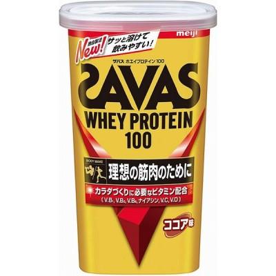 取寄品  ザバス ホエイプロテイン 100 ココア味 294g(約14食分) CZ7451  返品・交換不可 プロテイン