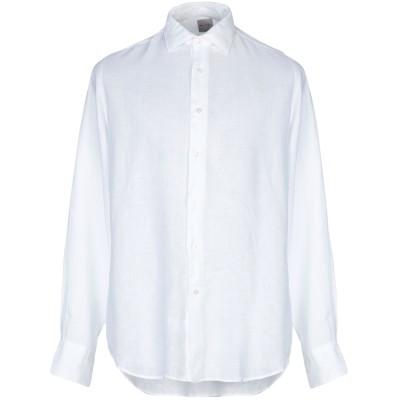 ROSSO MALASPINO シャツ ホワイト 45 麻 100% シャツ
