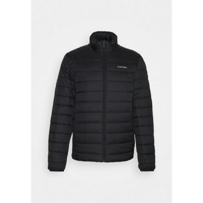 カルバンクライン ジャケット&ブルゾン メンズ アウター ESSENTIAL SIDE LOGO JACKET - Winter jacket - black