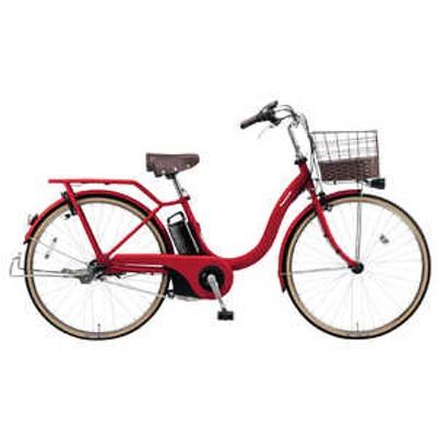 パナソニック Panasonic 電動アシスト自転車 ティモ・L カームレッド BE-ELSL632R2 [3段変速 /26インチ] カームレッド BE_ELSL632R2