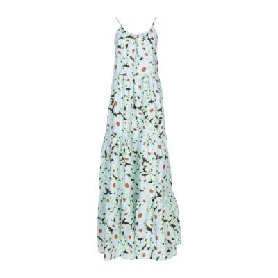PAUL & JOE SISTER ロングワンピース&ドレス ライトグレー 36 100% コットン ロングワンピース&ドレス