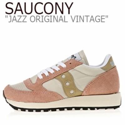 サッカニー ジャズオリジナル スニーカー SAUCONY JAZZ ORIGINAL VINTAGE ジャズ オリジナル ヴィンテージ ピンク S60368-31 シューズ