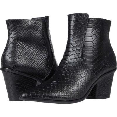 カーナス KAANAS レディース ブーツ シューズ・靴 Ghemme All Over Anaconda Bootie Black