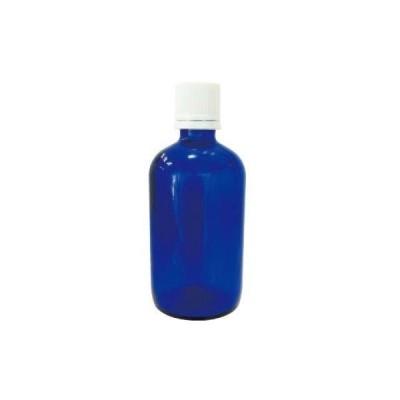 青色ガラス瓶 100ml 136914250 生活の木