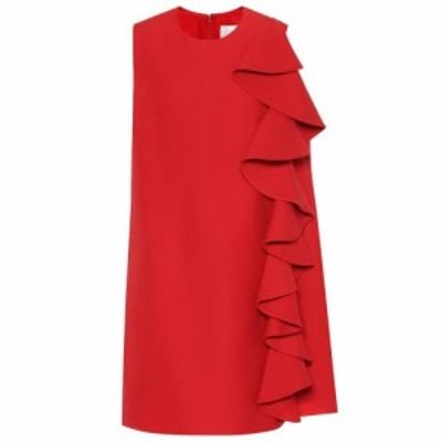 ヴァレンティノ Valentino レディース パーティードレス ワンピース・ドレス Wool and silk-crepe minidress