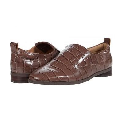 Aerosoles エアロソールズ レディース 女性用 シューズ 靴 ローファー ボートシューズ Sutton - Brown Croco
