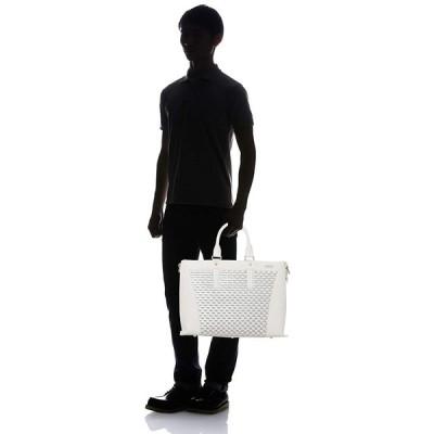 キングズ ビジネスバッグ トートバッグ メンズ A4サイズ収納可 ホワイト