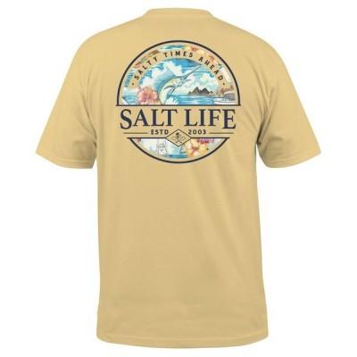 ソルトライフ メンズ Tシャツ トップス Men's Salty Times Graphic T-Shirt