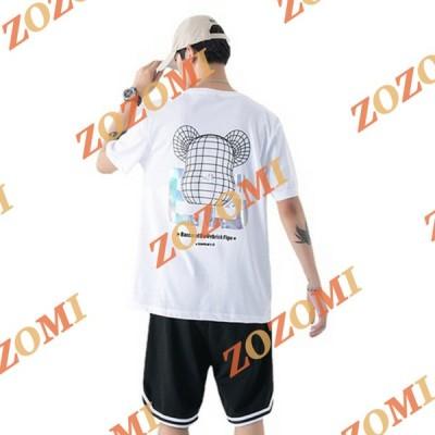 上着 半袖Tシャツ メンズ クルーネック 薄手 メンズファッション カジュアル ゆったり Tシャツ 夏