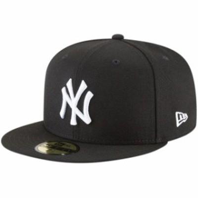 New Era ニュー エラ スポーツ用品  New Era New York Yankees Black Basic 59FIFTY Fitted Hat