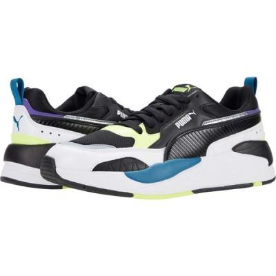 プーマ PUMA メンズ スニーカー シューズ・靴 X-Ray 2 Square Puma White/Puma Black/Fizzy Yellow/Digi Blue/Ultra Violet