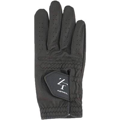 イオンスポーツ ZERO FIT インスパイラル ゴルフ グローブ レフティ 23cm 右手着用(左利き用) ブラック