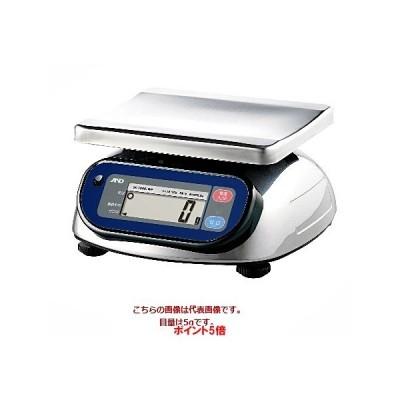 【ポイント5倍】 A&D 検定付きはかり 防塵・防水はかり SK-5000iWP (4級) (SK5000IWP-JA)