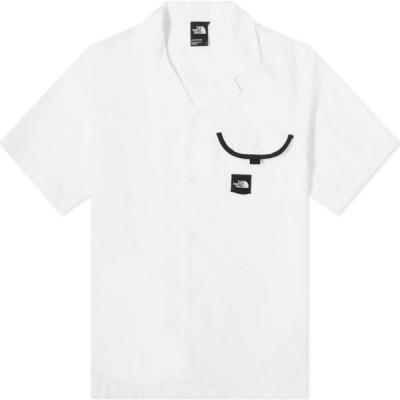 ザ ノースフェイス The North Face メンズ 半袖シャツ トップス Black Box Vacation Shirt White