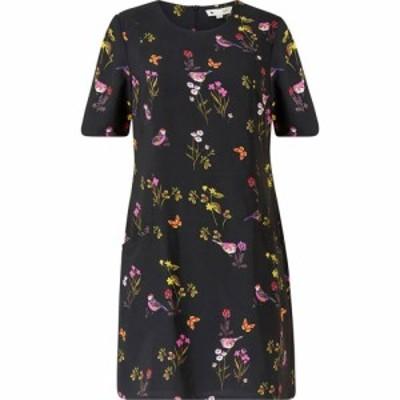 ユミ Yumi レディース ワンピース チュニックドレス ワンピース・ドレス Black Bird Print Tunic Dress Black