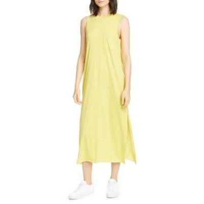 エーティーエム レディース ワンピース トップス Pocket Midi T-Shirt Dress CANARY