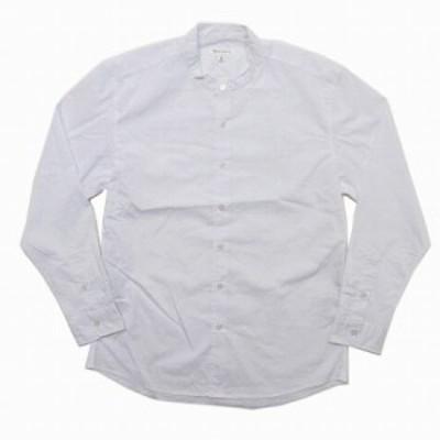 【中古】タケオキクチ ミクスパイス TK MIXPICE シャツ ワイシャツ 近年 バンドカラー 長袖 白 M トップス RRR メンズ