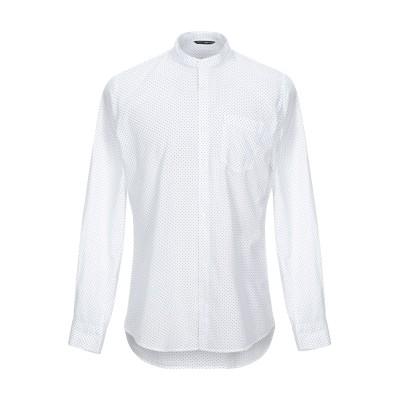 GAS シャツ ホワイト M コットン 100% シャツ