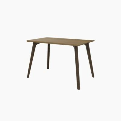 送料無料 ダイニングテーブル (W1100 天板:ホワイトオーク 脚:ウォールナット) - CROSS