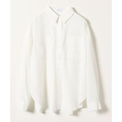 シャツ ブラウス SHIPS any:ドロップポケットシャツ◇