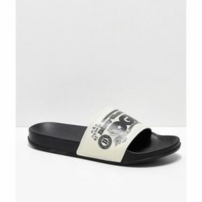 ディジーケー サンダル DGK Currency Black Slide Sandals Black