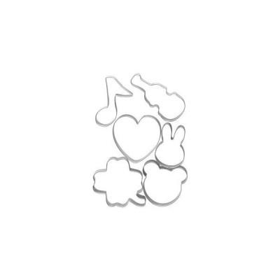 貝印 Kai House SELECT ホームメイドで楽しさひろがるクッキー抜き型 クマ ウサギ6点セット DL-6428 [▲][TP]