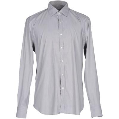 XACUS シャツ グレー 40 コットン 71% / ナイロン 26% / ポリウレタン 3% シャツ