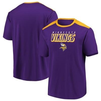 メンズ スポーツリーグ フットボール Men's Fanatics Branded Purple/Gold Minnesota Vikings Tactical Stunt T-Shirt Tシャツ