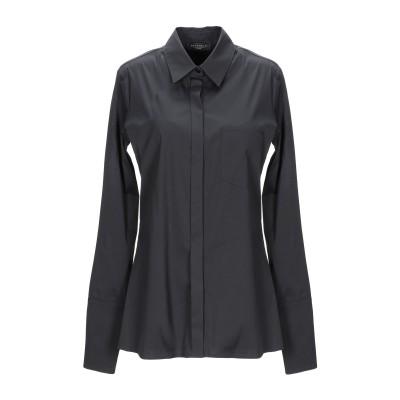 ANTONELLI シャツ ブラック 38 コットン 78% / ナイロン 18% / ポリウレタン 4% シャツ