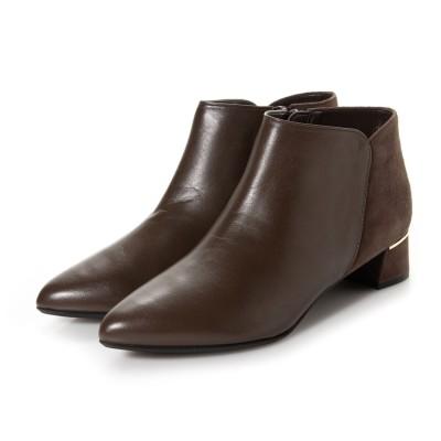 ダイアナウェルフィット DIANA WELL FIT ブーツ PM63606 (ダークブラウンカーフ)