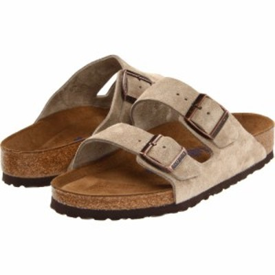 ビルケンシュトック Birkenstock レディース シューズ・靴 Arizona Soft Footbed - Suede (Unisex) Taupe Suede
