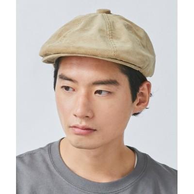 OVERRIDE / 【KANGOL】Cord Hawker MEN 帽子 > ハンチング/ベレー帽