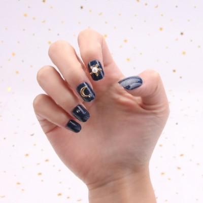 ネイルチップ 付け爪 綺麗な飾り付け  原宿 和風 夢幻 和装 素敵なネイルチップ 結婚式 パーティー 二次会などに ネイルアート 24枚入