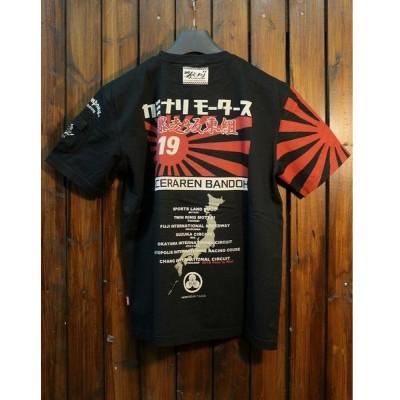 エフ商会 坂東組・カミナリ・テッドマン コラボ TDBDTEE-400 WEDSコラボTシャツ ブラック