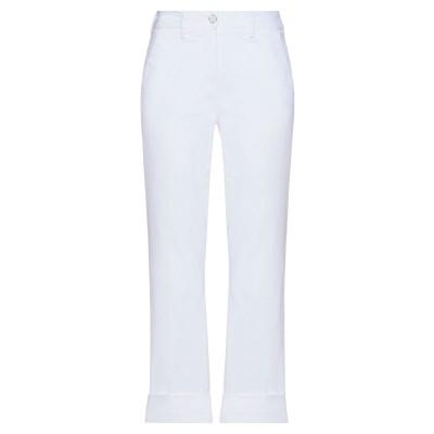 リハッシュ RE-HASH パンツ ホワイト 24 コットン 98% / ポリウレタン 2% パンツ