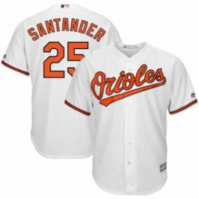 Majestic マジェスティック スポーツ用品  Majestic Anthony Santander Baltimore Orioles White Home Cool Base Player J