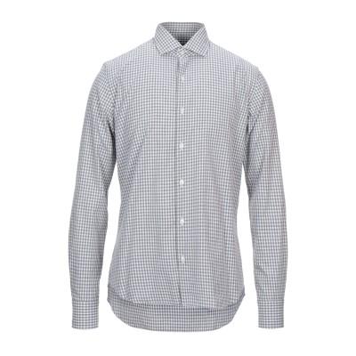 XACUS シャツ グレー 37 コットン 100% シャツ