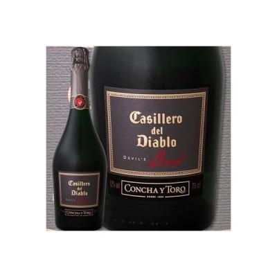 スパークリングワイン チリ 750ml wine sparkling カッシェロ・デル・ディアブロ・デビルズ・コレクション・ブリュット ミディアムボディ 辛口