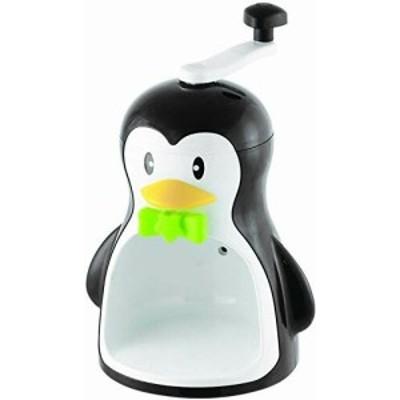 パール金属 かき氷器 ペンギン ブラック クールズ D-1323