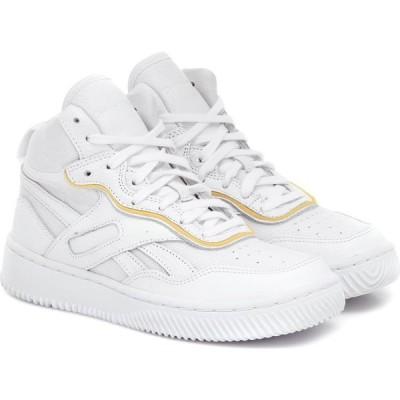 リーボック Reebok x Victoria Beckham レディース スニーカー シューズ・靴 dual court ii leather sneakers White/White/White