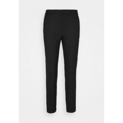 マックス アンド コー レディース カジュアルパンツ ボトムス MONOPOLI - Trousers - black black
