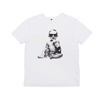 スターリアンシンプルBABYプリントTシャツ