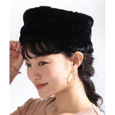 BEAMS WOMEN / Ray BEAMS / フェイクファー ロシアン帽 WOMEN 帽子 > ハット