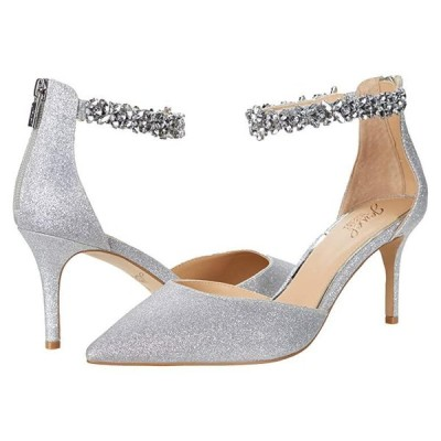Jewel Badgley Mischka Raleigh レディース ヒール パンプス Silver 1