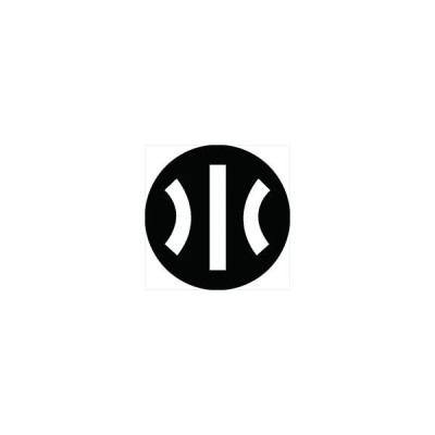 家紋シール 川文字紋 直径4cm 丸型 白紋 4枚セット KS44M-2105W