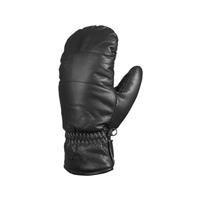Swany Women's Ally Leather Insulated Mitt, Black, Medium