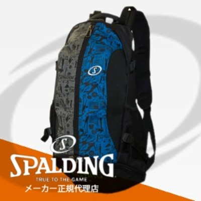 【SPALDING・スポルディング】ケイジャー バッグ グラフィティブルー リュック バスケットボールバッグ 32L